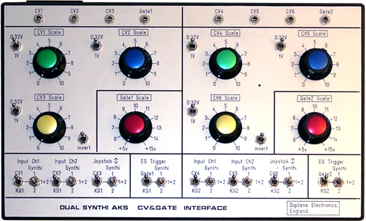 Dual Synthi AKS CV&Gate Interface